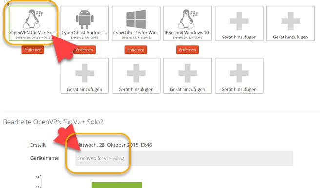 Sat-Receiver: OpenVPN für VU+ Solo2 konfigurieren