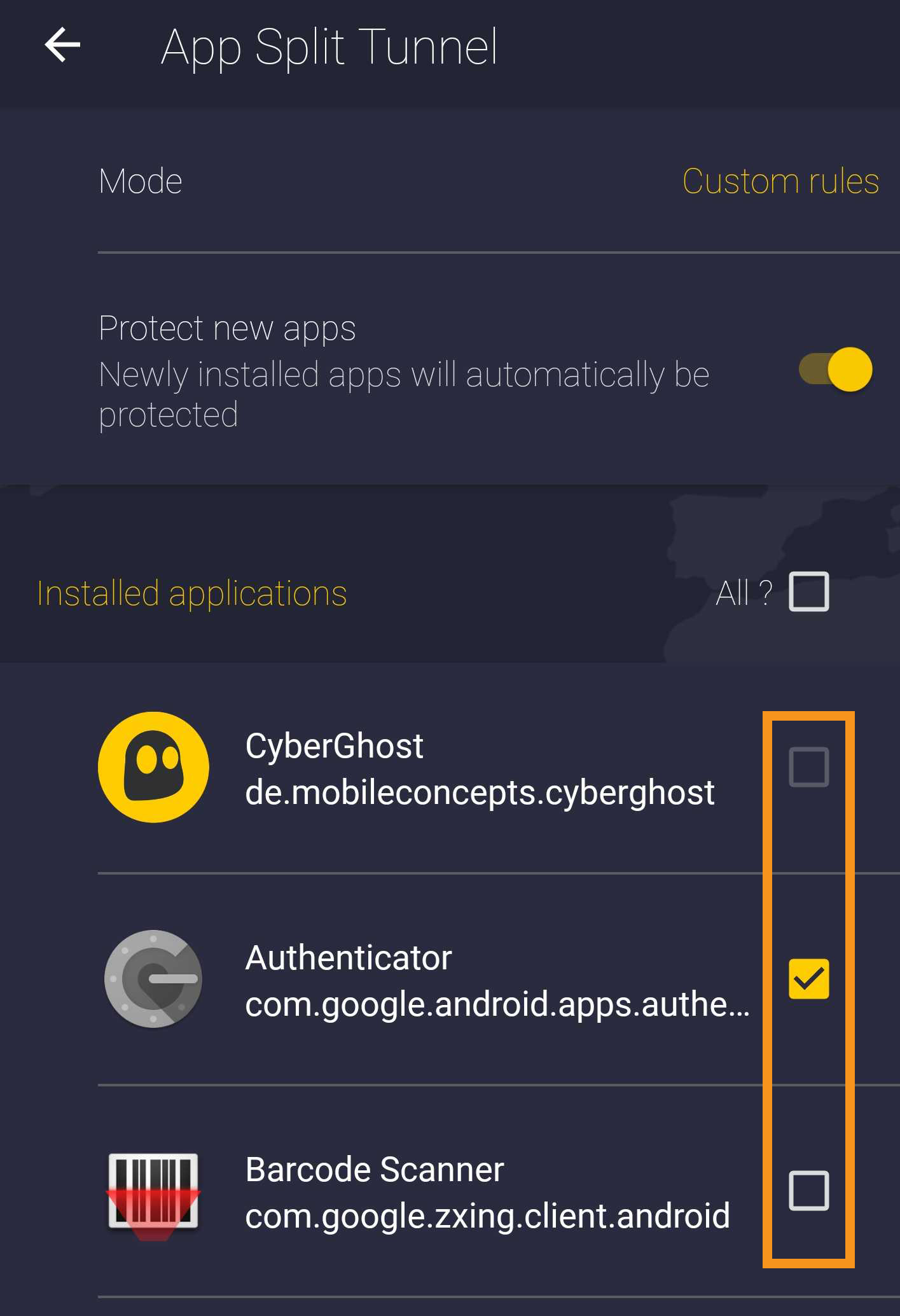 How to use split tunneling with CyberGhost for Android – CyberGhost VPN