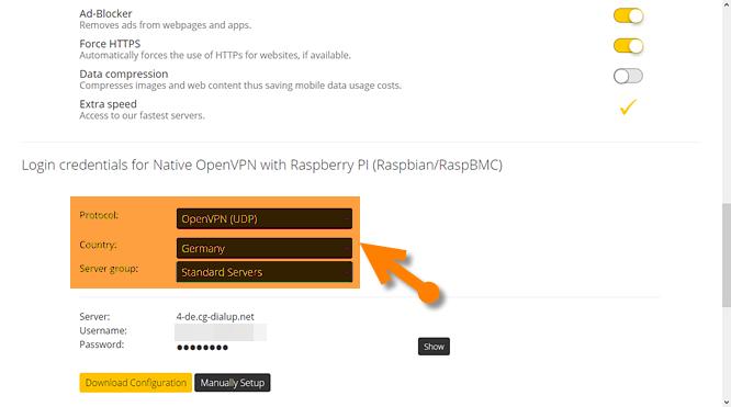 Raspberry pi 3 web proxy