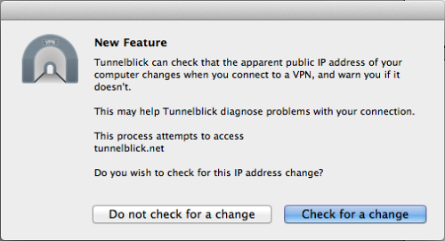 Mac OS: That's how you configure OpenVPN to use with