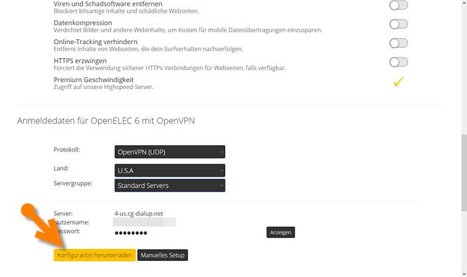 So konfigurierst du den CyberGhost-Client oder OpenVPN für Kodi auf ...